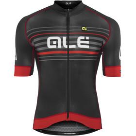 Alé Cycling Graphics PRR Salita Kortärmad cykeltröja Herr röd/svart